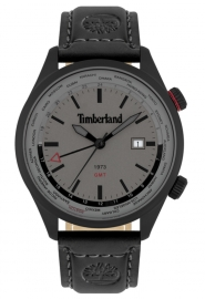 WATCH TIMBERLAND MALDEN 45MM GREY 3H DATE BLACK LEATHER 15942JSB-13