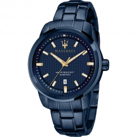 WATCH MASERATI BLUE EDITION 44MM 3H R8853141002