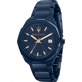 WATCH MASERATI BLUE EDITION 42MM 3H R8853141001