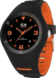 WATCH ICE WATCH P. LECLERCQ - BLACK ORANGE - MEDIUM - 3H IC017598