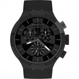 WATCH SWATCH CHECKPOINT BLACK SB02B400