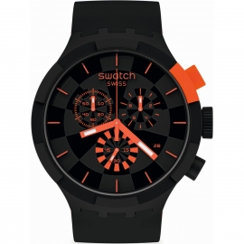 WATCH SWATCH CHECKPOINT RED SB02B402