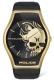 POLICE PEWJA2002301 SPHERE 2H GOLD / BLACK LEAT PL.16114JSG-02