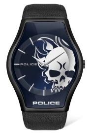 WATCH POLICE PEWJA2002302 SPHERE 2H GUN / BLACK LEATH PL.16114JSU-03