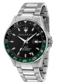 WATCH MASERATI SFIDA 44MM 3H BLACK DIAL BR SS R8853140005