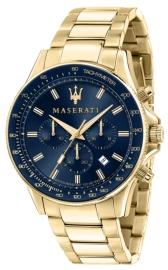 WATCH MASERATI SFIDA 44MM CHR BLUE DIAL BR YG R8873640008