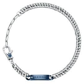 WATCH MASERATI GIOIELLI MASERATI BR.IP BLUE W/NATURAL DIAMOND JM221ATY09