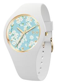 WATCH ICE WATCH FLOWER - WHITE SAKURA - MEDIUM - 3H IC019202