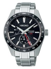 WATCH SEIKO PRESAGE SHARP EDGED SERIES GMT NEGRO SPB221J1