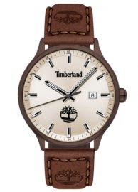 WATCH TIMBERLAND ALLENDALE 3H GREY DIAL / BROWN LEATHER TDWGB2102203