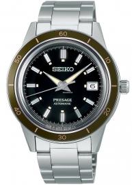 WATCH SEIKO PRESAGE STYLE 60' AUTOMáTICO VERDE OLIVO SRPG07J1