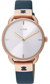 WATCH TOUS LET LEATHER IPRG ESF PLATA CORREA NAVY 000351540