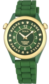 WATCH TOUS TENDER TIME PC/IPG ESF VERDE SILICONA 100350575