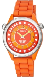 WATCH TOUS TENDER TIME PC/SS ESF NARANJA SILICONA 100350585