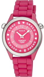 WATCH TOUS TENDER TIME PC/SS ESF ROSA SILICONA 100350580