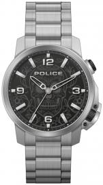 WATCH POLICE FERNDALE 3H BLACK DIAL / SS BRAZ PEWJJ2110003