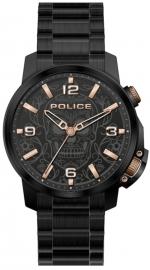 WATCH POLICE FERNDALE 3H BLACK DIAL / BLACK BRAZ PEWJJ2110001
