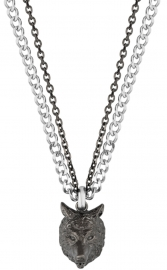 WATCH POLICE JEWELS SAVAGE ANIMALIA NECKLACE IPGUN SS PEAGN2119901
