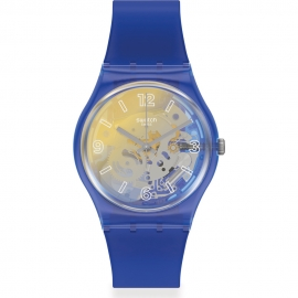 WATCH SWATCH YELLOW DISCO FEVER GN278