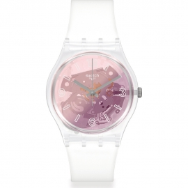 WATCH SWATCH PINK DISCO FEVER GE290