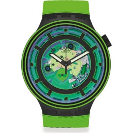 WATCH SWATCH COME IN PEACE SB01B125
