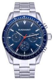 WATCH RADIANT TIDEMARK 45MM BLUE DIAL IPSILVER BRAZ RA577701