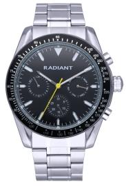 WATCH RADIANT TIDEMARK 45MM BLACK DIAL IPSILVER BRAZ RA577702