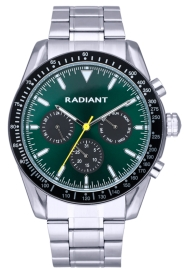 WATCH RADIANT TIDEMARK 45MM GREEN DIAL IPSILVER BRAZ RA577703