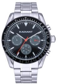 WATCH RADIANT TIDEMARK 45MM BLACK-GREY DIAL IPS BRAZ RA577705