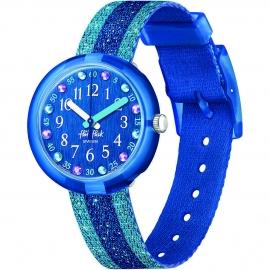 WATCH FLIK FLAK SHINE IN BLUE FPNP103
