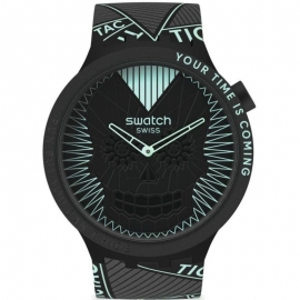 WATCH SWATCH RUN BUT YOU CANT HIDE SB01B129
