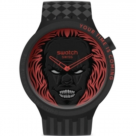 WATCH SWATCH YOUR TIME IS COMING SB01B128